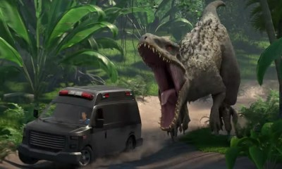 trailer de 'Jurassic World Camp Cretaceous'