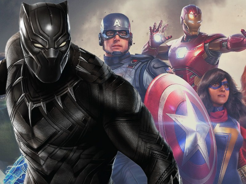 'Marvels' Avengers' retrasaría la llegada de Black Panther