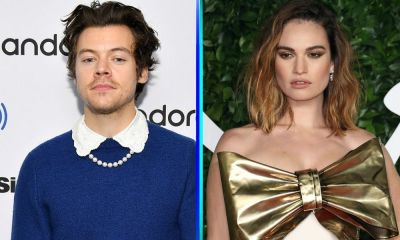 película con Harry Styles y Lily James
