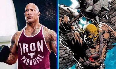 reacción de Dwayne Johnson al nuevo Hawkman