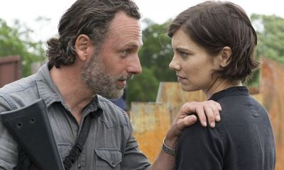 reencuentro entre Maggie y Judith Grimes