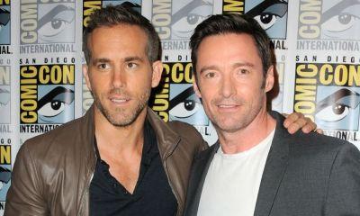 Ryan Reynolds editó foto de Hugh Jackman