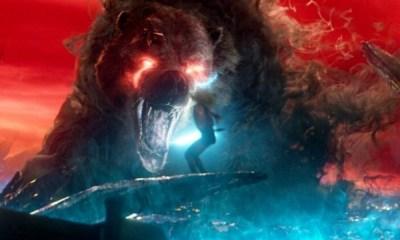 arte conceptual de Demon Bear en The New Mutants