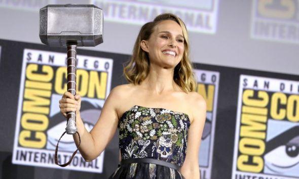 entrenamiento de Natalie Portman
