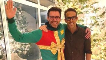 Hugh Jackman felicitó a Ryan Reynolds