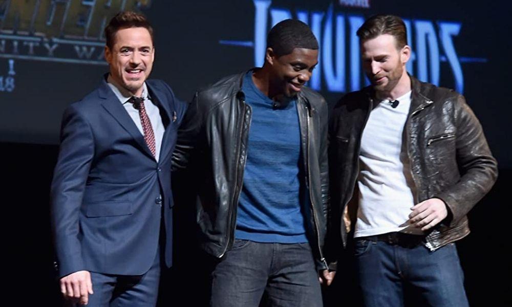 presentación de Chadwick Boseman como Black Panther