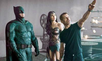 primera imagen del set de 'Zack Snyder's Justice League'