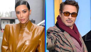 Robert Downey Jr y Kim Kardashian hablarán de su pasado