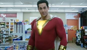 Zachary Levi reacciona al nuevo traje de Shazam