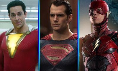 Superman en escena post créditos de Black Adam