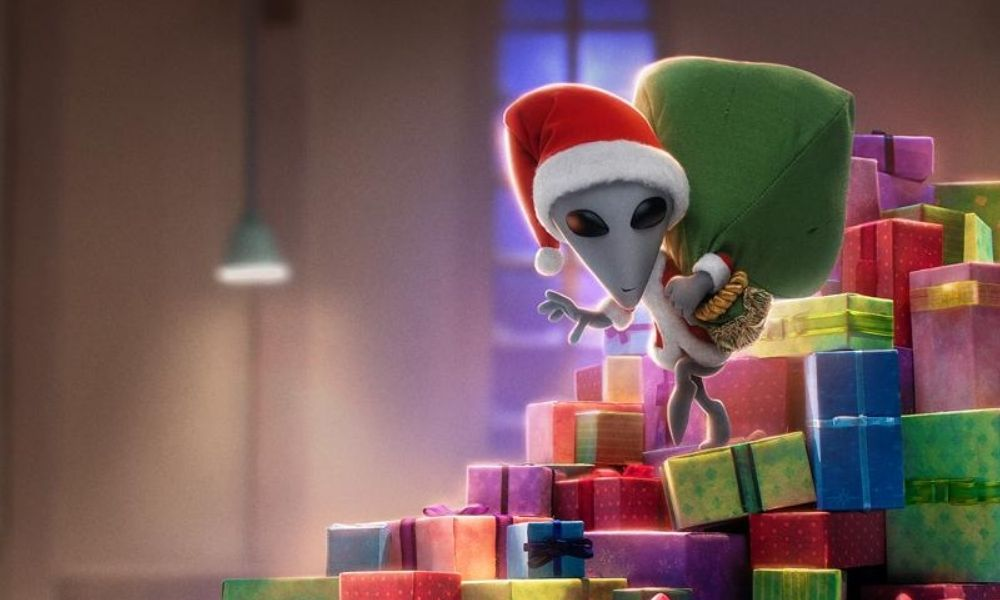 Netflix muestra la Navidad en otros planetas en el trailer 'Alien Xmas'