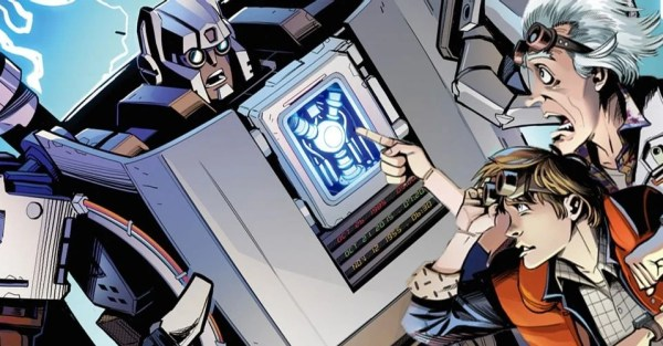 ¡El regreso de Marty y Doc! Personajes de 'Back to the Future' conocerán a los Transformers transformers-btf-600x313