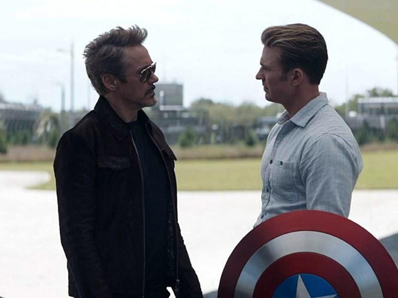 cómo supo Tony Stark a que año viajar en Endgame