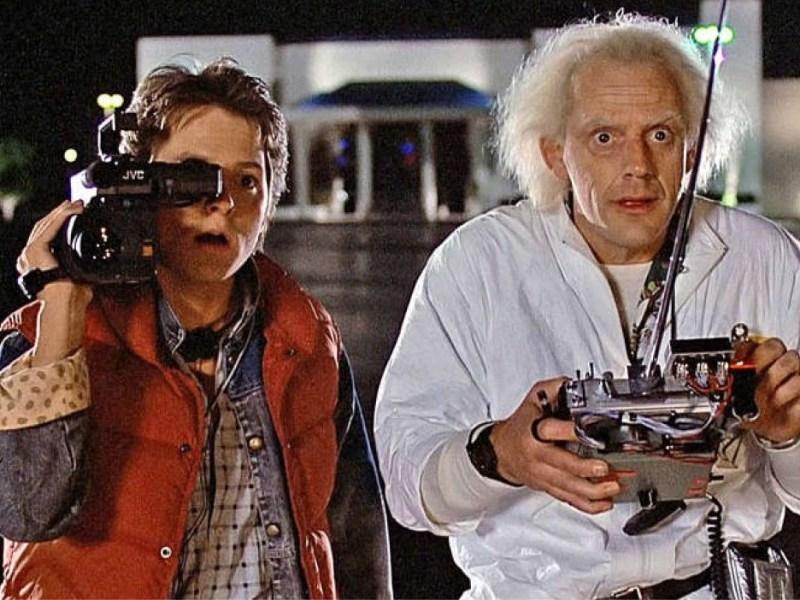 fans celebraron el aniversario de 'Back to the Future'