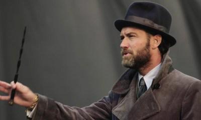 Jude Law habló de 'Fantastic Beasts'