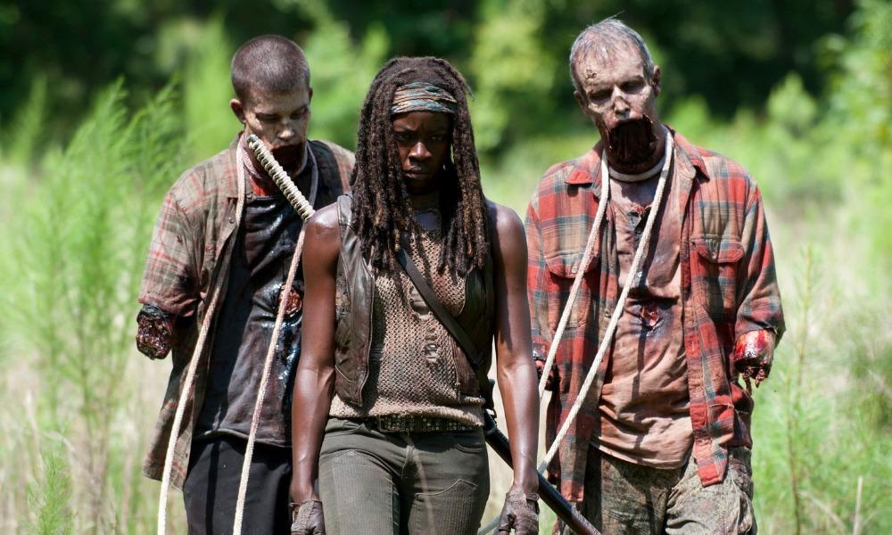 no existen los zombies en The Walking Dead