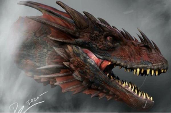 ¡Con más dragones! Revelan los primeros artes conceptuales de 'House of the Dragon' game-of-thrones-house-of-the-dragon-concept-art-1247454-600x398