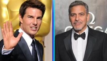 George Clooney habló del regaño de Tom Cruise