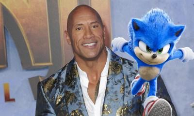Dwayne Johnson en Sonic The Hedgehog 2