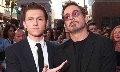 Robert Downey Jr y Tom Holland quieren trabajar juntos