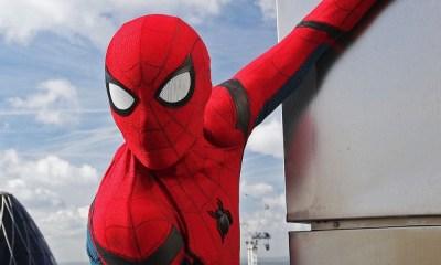 Scarlet Witch y Tony Stark en Spider-Man 3