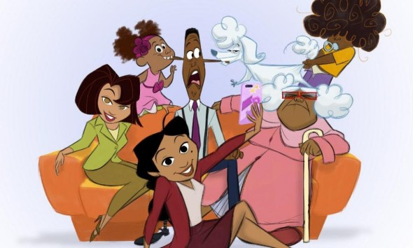 nuevo look de 'The Proud Family'