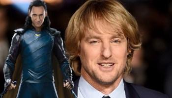 Owen Wilson se prepara para 'Loki'