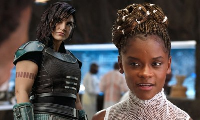 por qué no despidieron a Letitia Wright