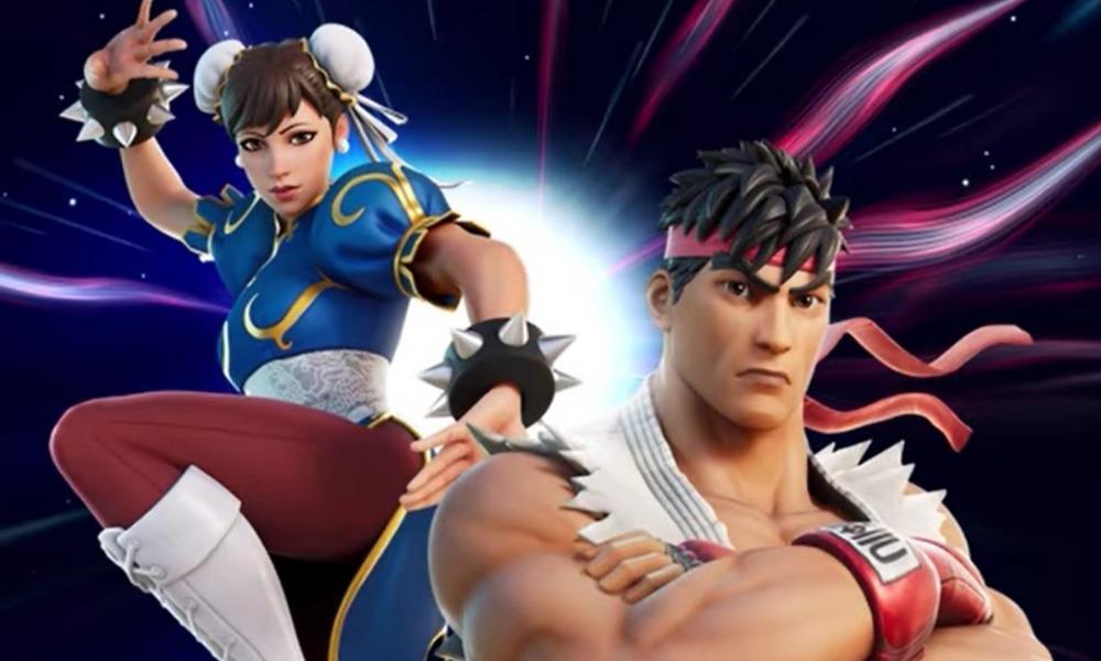 trailer de Ryu y Chun-Li en 'Fortnite'