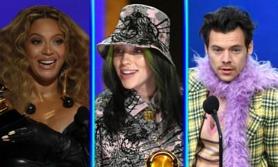Ganadores de los Grammys 2021