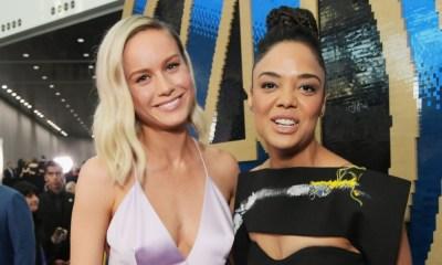 Tessa Thompson y Brie Larson trabajarán en un nuevo proyecto