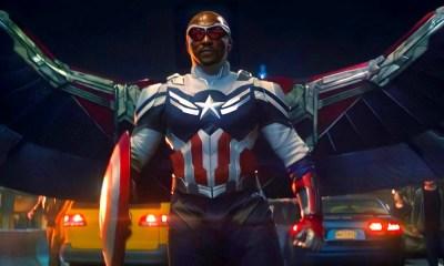 alas del traje de Captain America son de vibranium