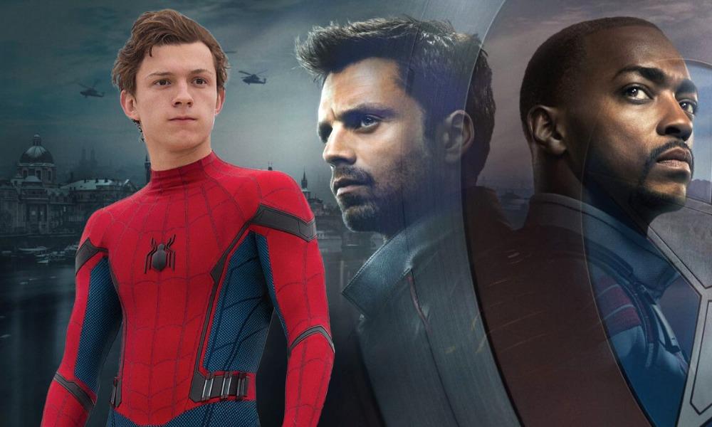Spider-Man al final de The Falcon and the Winter Soldier