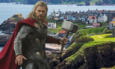 fotos de los sets de 'Thor Love and Thunder'