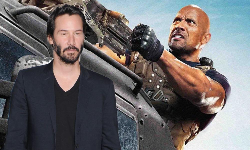 Keanu Reeves en Hobbs and Shaw 2