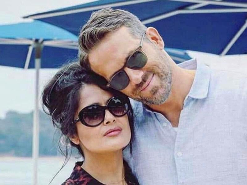 Salma Hayek abofeteó a Ryan Reynolds