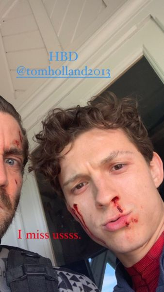 Jake Gyllenhaal felicita a Tom Holland por cumpleaños