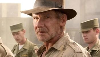 Harrison Ford como Indiana Jones