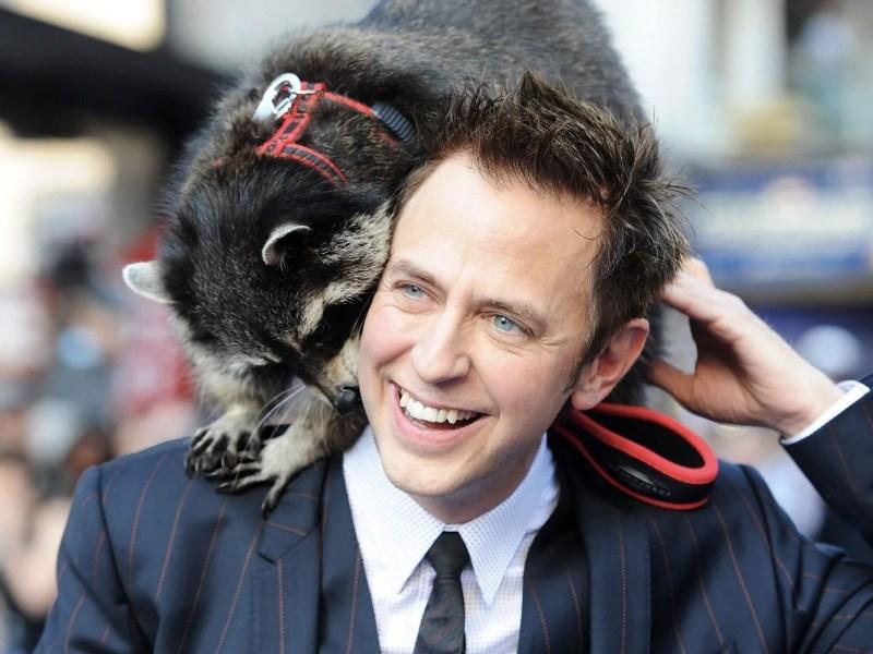 James Gunn pagará daños de mapaches