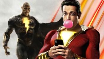 no aparecerá Black Adam en Shazam 2