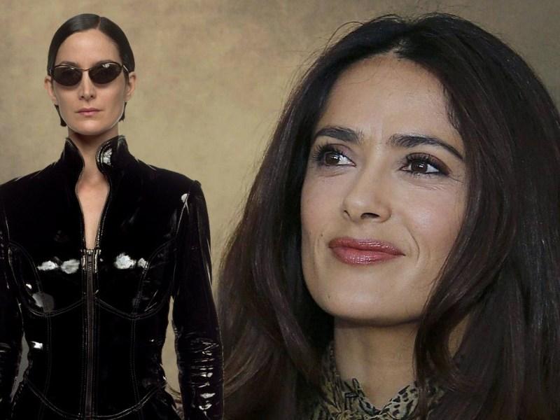 Salma Hayek confesó cómo perdió el papel de Trinity
