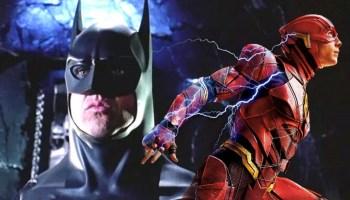 traje de Batman en The Flash