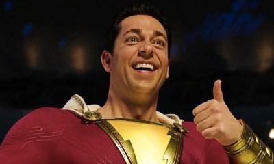 Video del nuevo traje de Shazam