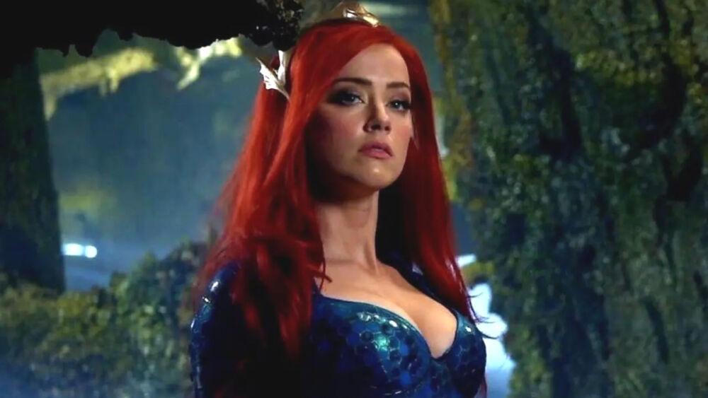 Con acrobacias, Amber Heard se prepara para regresar como Mera en  'Aquaman 2'