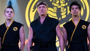 entrenamiento del elenco de 'Cobra Kai'