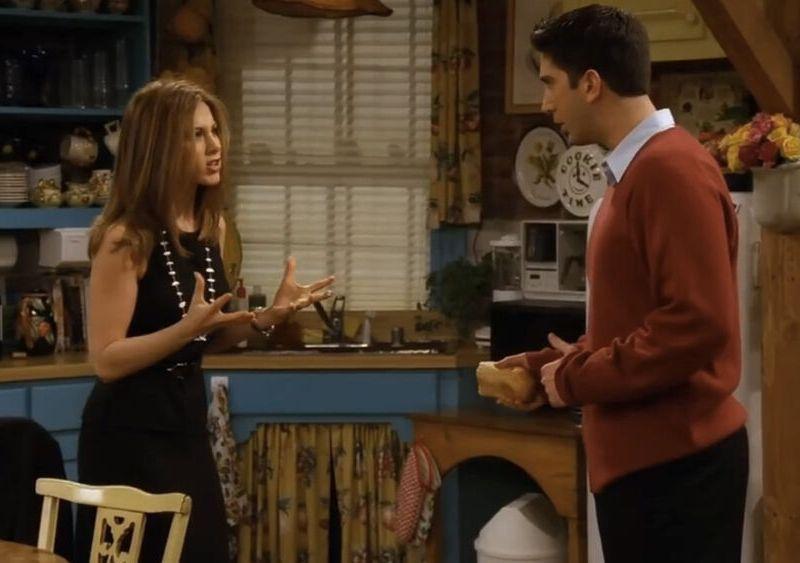 Rachel y Ross se habían dado un tiempo