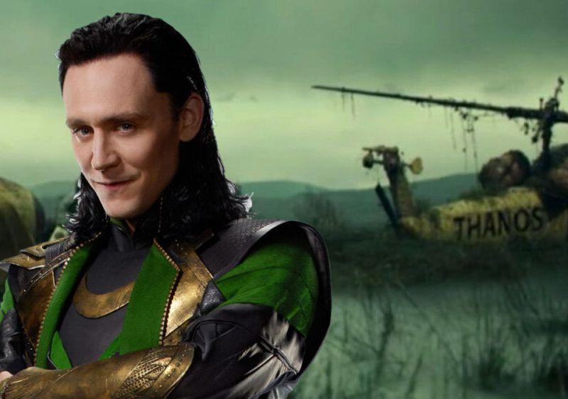 helicóptero de Thanos en 'Loki'