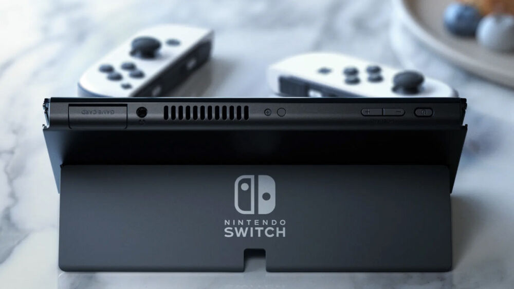 Presentación de Nintendo Switch OLED
