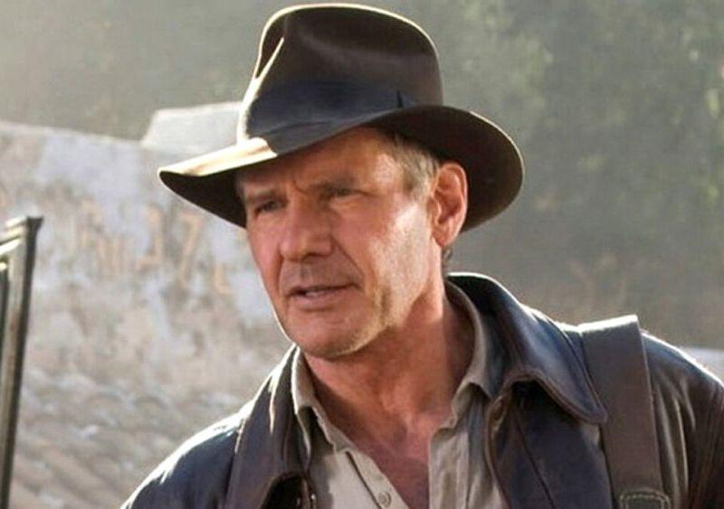 reapareció lesionado Harrison Ford