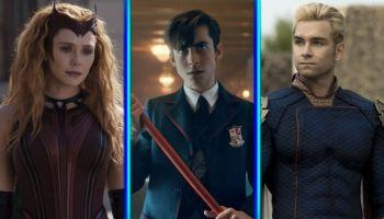 Series de superhéroes en los Emmy 2021